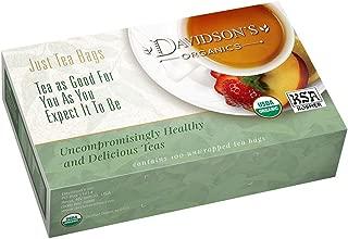 Davidson's Tea, Gunpowder Green, 100-Count Tea Bags