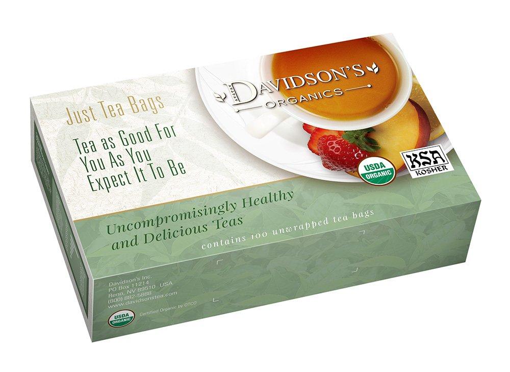 Davidson's Tea Tulsi Mango Tampa Max 83% OFF Mall Peach Bags 100-Count