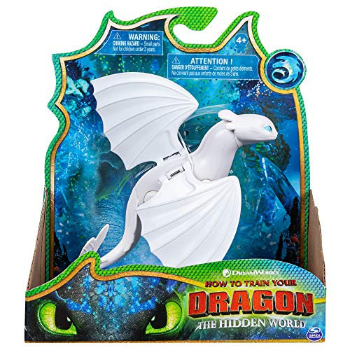 Bizak  Dragón Articulado Deluxe Lightfur