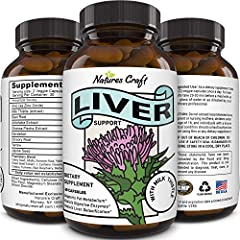 All-natural Effective supplements to promote strong functioning liver with milk thistle dandelion root artichoke beet root yarrow & chicory root all known for promoting healthy liver function Natural detox cleanse capsules reduce bloating while incre...