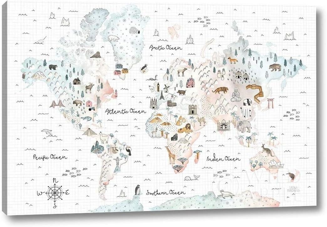 World Traveler I by Laura 商舗 Marshall - x 25