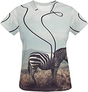STORTO Mens Cool Printed Animals Pattern T-Shirts Graphics Tees Cool Short Sleeve Tops