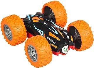 Escape Park Coche teledirigido 360 ° Volteos Laterales Dobles RC Stunt Car Mini Jump Dump Truck, Divertido de Jugar, Color...