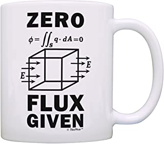 Science Nerd Gifts for Adults Zero Flux Given Gauss Law Physics Science Teacher Gifts Funny Science Gift Electrostatics Gi...