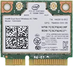 Best intel ac 7260 pcie mini card Reviews