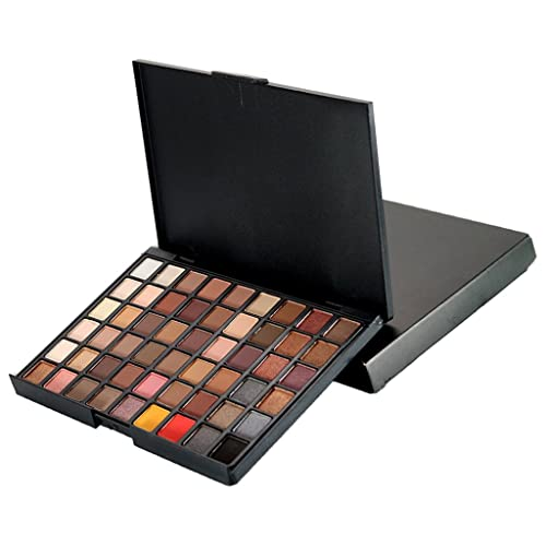 Magideal 54 Colors Pro Natural Shiny Shimmer Matte Eyeshadow Palette Smoky Eyes Makeup Cosmetic Set - 1