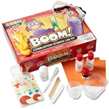 hand2mind Combustion Science Kits for Kids 8-12, Kids Science Kit with Fact-Filled Guide, Lava Lamp, Rocket Balloon, and B...