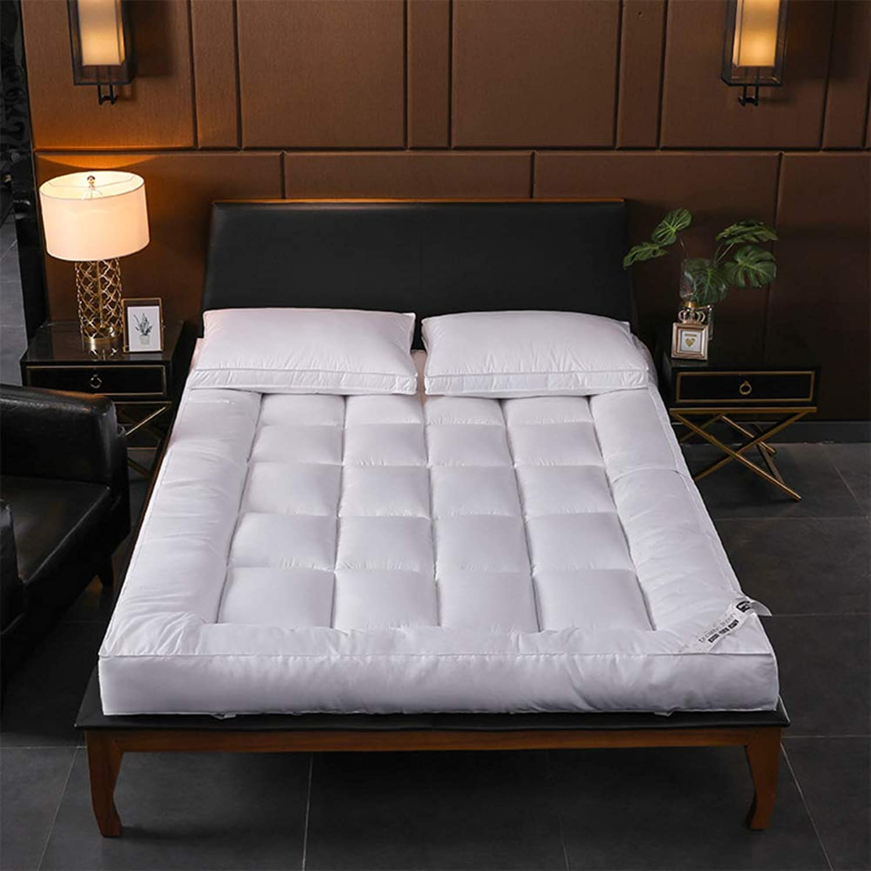 Tatami Mattress,10cm Elasticated Corner Straps Feather Velvet Mattress,Student Folding Tatami Bed,for Home Dormitory Hotel-C 120x200cm(47x79inch)