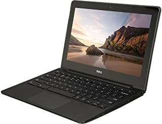 Dell ChromeBook 11 - インテルCeleron 2955U、4GB RAM、16GB SSD、Webカメラ、HDMI、(11.6 HDスクリーン1366x768)(Certified Refurbished)
