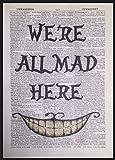 Kunstdruck Der verrückte Hutmacher aus Alice im