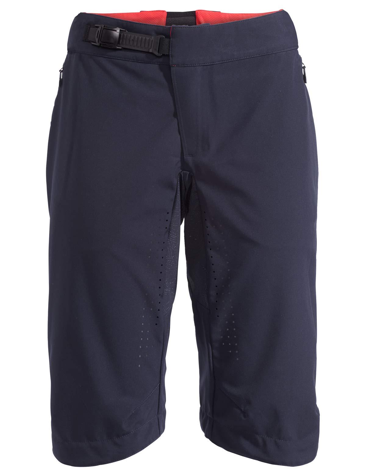 VAUDE Damen Hose eMoab Shorts für eMountainbiker, eclipse, 38, 414397500380