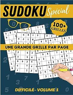 Sudoku difficile volume 1: Cahier spécial gros caractères, très lisible   120p Grand Format 21 x 29,7cm   Une grande grill...