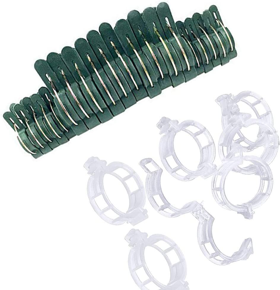 120 Pieces Plant Support Max 47% OFF Plan Flowers Quantity limited Garden Clips