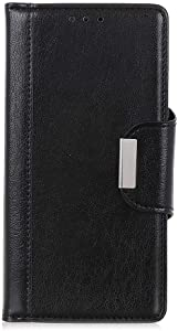 Samsung Galaxy 2018 Case THRION Premium Leather Flip Wallet Cover with Card Slot Holder and Magnetic Closure for Samsung Galaxy 2018  Black
