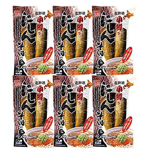 にしんそばの具 ニシン 北海道 にしん そばの具 2枚入り 6袋 セット おそば 具 蕎麦 鰊 甘露煮 ソバの具