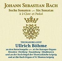 Bach: 6 Sonatas by Thomasorganist Ullrich Bohme