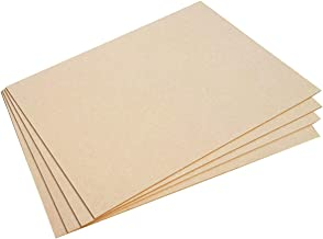 Incredible Gifts India MDF Wood Sheets for Craft Use (6 x 6-inches, 4 mm) Set of 6