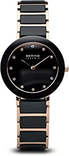 BERING Time 11429-746 Womens Ceramic Collection Watch with Stainless Steel Band and Scratch Resistant Sapphire Crystal. Designed in Denmark.