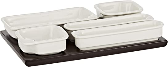 Symphony Mixed,White - Combination Dinnerware Sets
