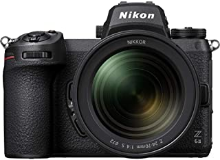 Nikon Z 6II 24.5MP FX-Format Mirrorless Digital Camera with 24-70mm f/4 Lens
