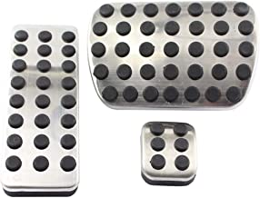 Stainless Steel Sport Brake Pedal Pads Cover For A164300082 / A1702900182 / A1644300084 Mercedes Benz 2006-2012 M-Class W164 2007-2013 GL-Class X164 2006-2012 R-Class V251