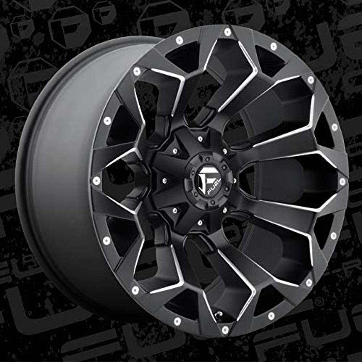 Fuel Assault black Wheel with Painted price 9. 17 El Paso Mall Finish 5 inches x