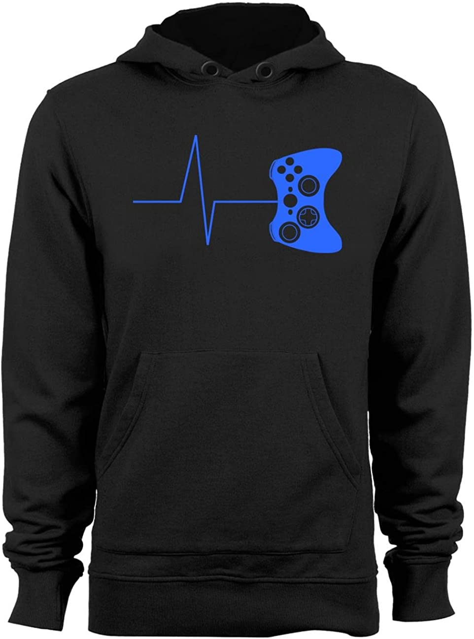 Guerrilla Tees Spasm price Heartbeat of a Gaming Funny Sweatshi NEW before selling Hoodie Gamer