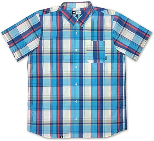 LRG RC Plaid One manche courte Shirt Off blanc