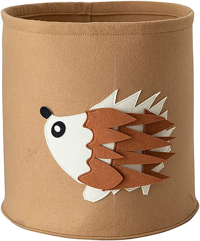 JEZZ Baby Laundry Basket Cute Collapsible Max 64% OFF Spasm price Buc Storage Animal Toy