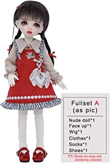Mini BJD Doll 27.3cm 1/6 Cosplay Fashion SD Dolls Children's Creative DIY Toys 10.75 Inch Ball Jointed Doll, with Clothes ...
