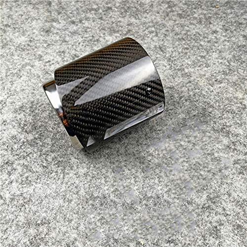 MPOQZI Carbon Auspuff, passend für Mini Cooper S R55 R56 R57 R58 R59 R60 R61 F54 F56 F57 F60