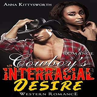 Cowboy's Interracial Desire Romance audiobook cover art