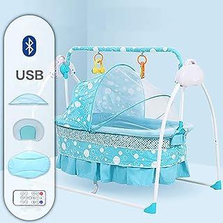 SHARESUN 3-en-1 Toddler Rocker, Baby Swing Cradle Cradle Electric, con