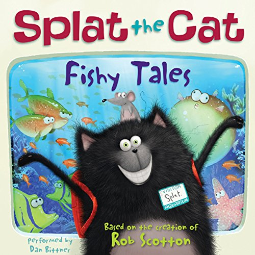 Splat the Cat: Fishy Tales audiobook cover art