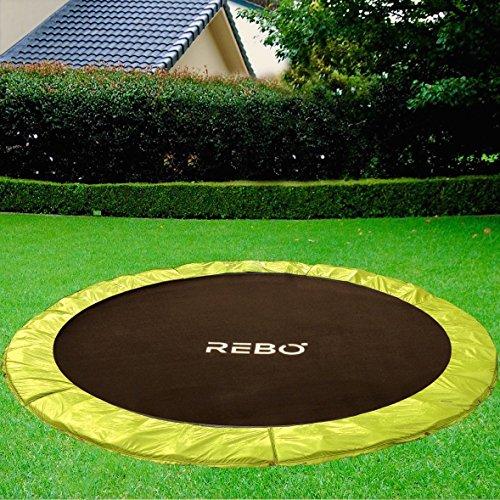 Rebo Inground Base Jump Trampoline - 4 Sizes