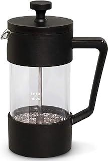 【Teranuvo】 コーヒー フレンチプレス コーヒーメーカー フィルターレス プレス式 珈琲 簡単 抽出フレンチプレスコーヒーメーカー 350ml 2人
