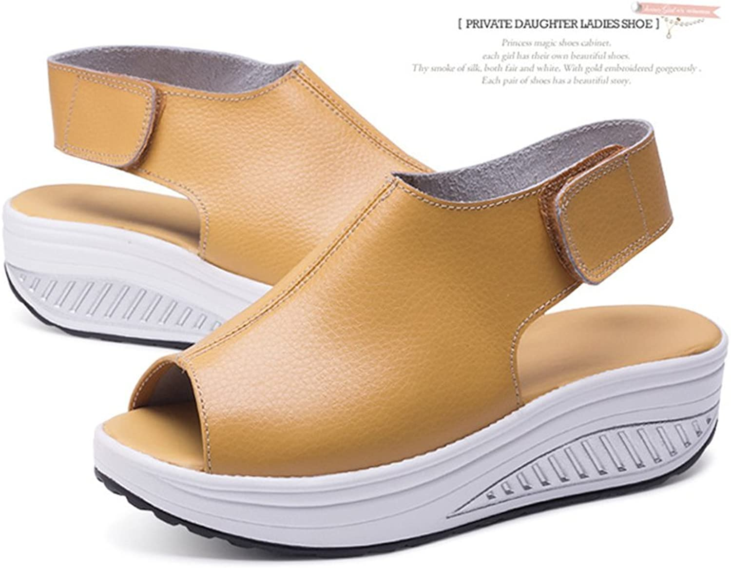 Women's Wedge Sandal Breathable Walking shoes