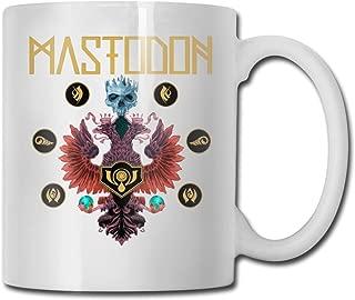 DesireJCuevas Mastodon Crack The Sky Mug Coffee Mug Tea Cup Wine Mugs Novelty Funny Mug White Ceramic Mugs Large C-Handle 11 Oz Double-Sided Printing Mug