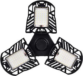 Dakaly LED Deformable Garage 6000LM Light Lamp Ceiling Motion Activated Sensor