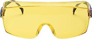3M Overbril 2802, veiligheidsbril AS, UV, PC, geel getint