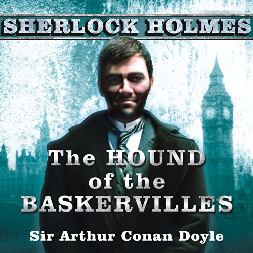 The Hound of the Baskervilles audiobook cover art
