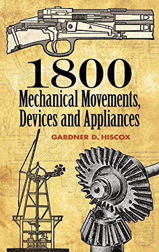 1800 Mechanical Movements, Devices and Appliances...