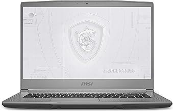 "CUK WF65 by MSI 15 Inch Mobile Workstation Laptop (Intel Core i7, 32GB RAM, 2TB NVMe SSD, NVIDIA Quadro P620 4GB, 15.6"" FH..."