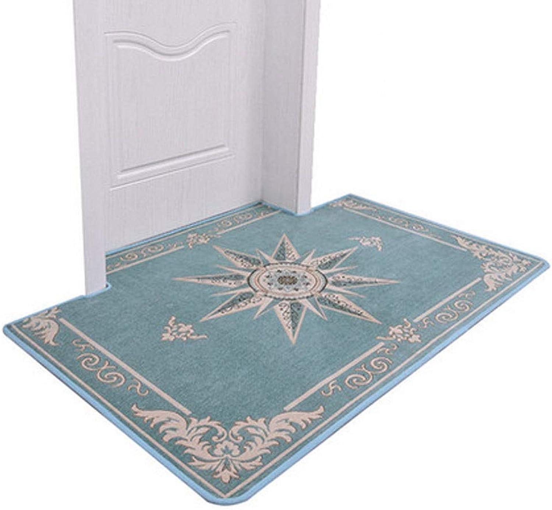 Yougou01 Doormat,Suitable for Living Room Kitchen Bedroom Bathroom,Waterproof,Washable,Easy Clean,Exquisite Jacquard Craft (Size   32  40 inch)