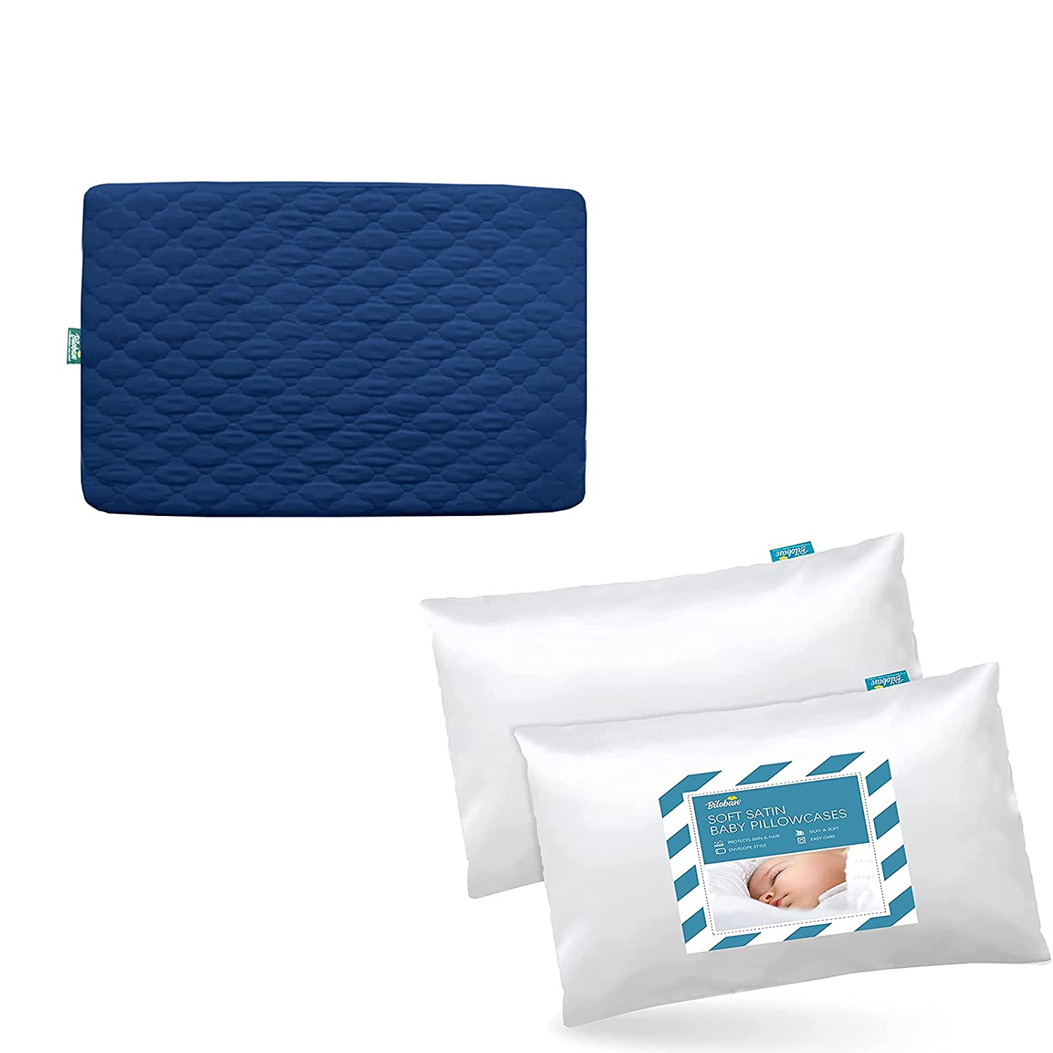 Pack Columbus Mall n Play Sheet Quilted Waterproof Navy Protector Sa Blue Rare with