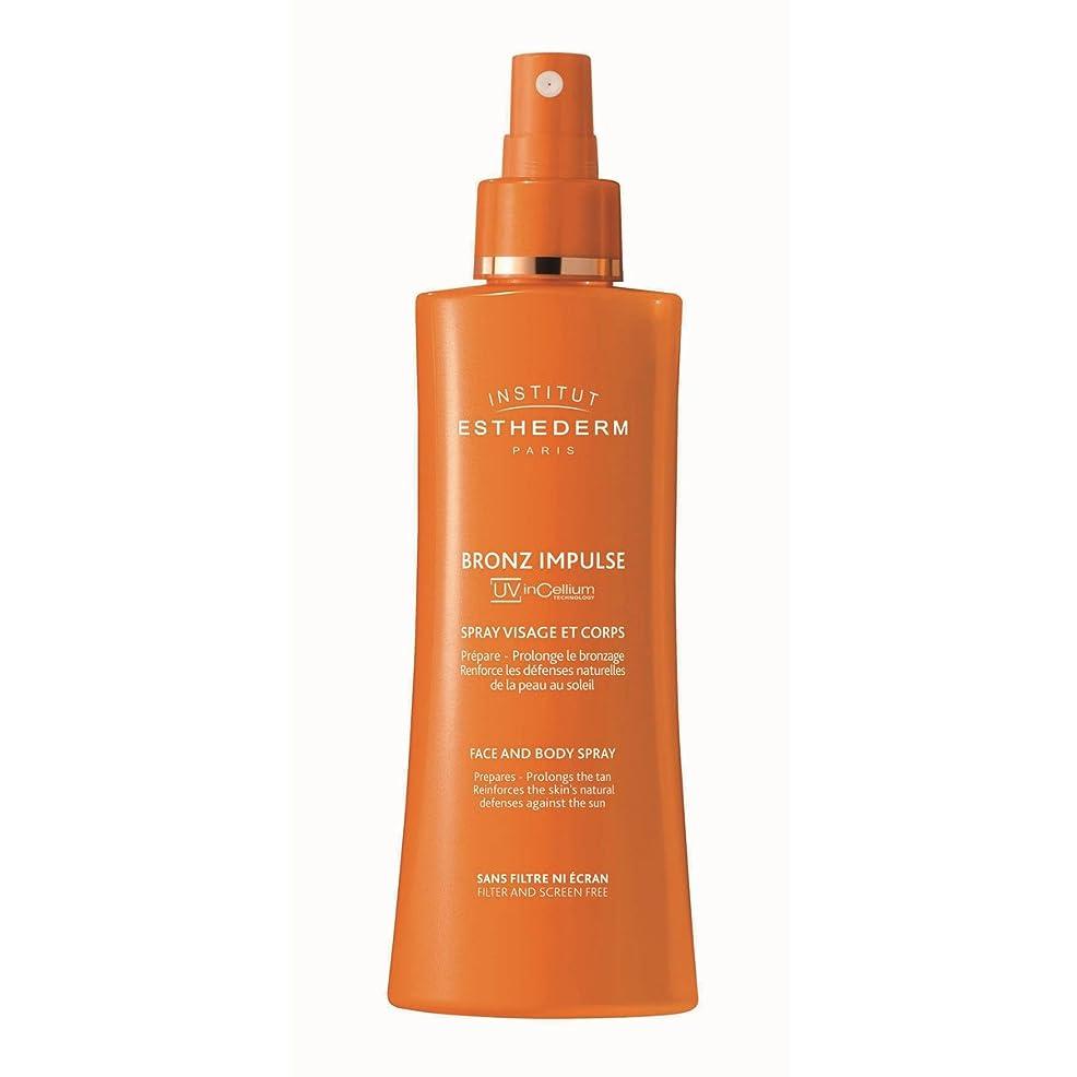 効果的にグローブ組み合わせInstitut Esthederm Bronz Impulse Face And Body Spray 150ml [並行輸入品]