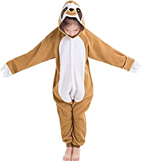 Kids Christmas Cosplay Onesie Animal Unisex Pajamas Children (4-10T)