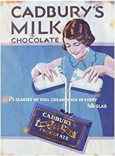 Etch-It-England Cadbury Chocolate Vintage Classic Advert