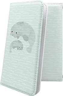 AQUOS R2 compact/SH-M09 ケース 手帳型 アザラシ イルカ 動物 動物柄 アニマル どうぶつ アクオスアール コンパクト アクオスアール2 アクオスコンパクト 手帳型ケース ハワイアン ハワイ 夏 海 aquosr2 shm09 aquosr2compact 水族館 シーパラダイス