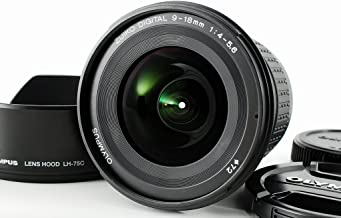 Olympus E 9-18mm f/4.0-5.6 Zuiko Lens for Olympus Digital SLR Cameras - International Version (No Warranty)